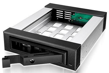 ICYBOX IB-129SSK-B IcyBox Mobile Rack for 3.5/2.5 SATA/SAS HDD, Black