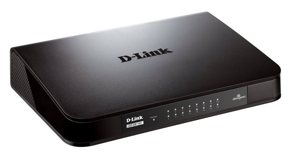D-Link GO-SW-16G 16-Port GIGABIT DESKTOP SWITCH