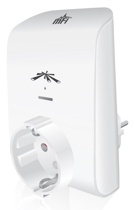 Ubiquiti mFi mPower, 1 zásuvka EU, Wifi