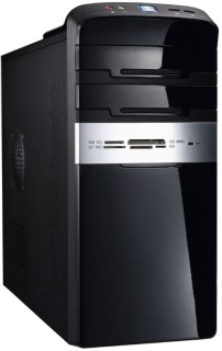EUROCASE skříň MC47 EVO micro black/silver, USB 3.0, bez zdroje