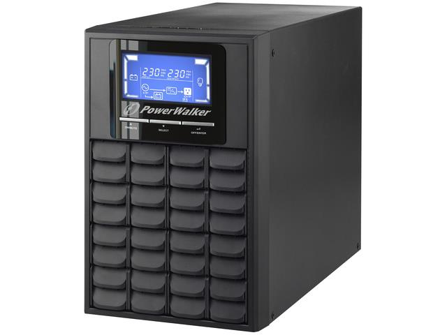 Power Walker UPS On-Line 1000VA, 3x IEC, USB/RS-232, LCD, Tower