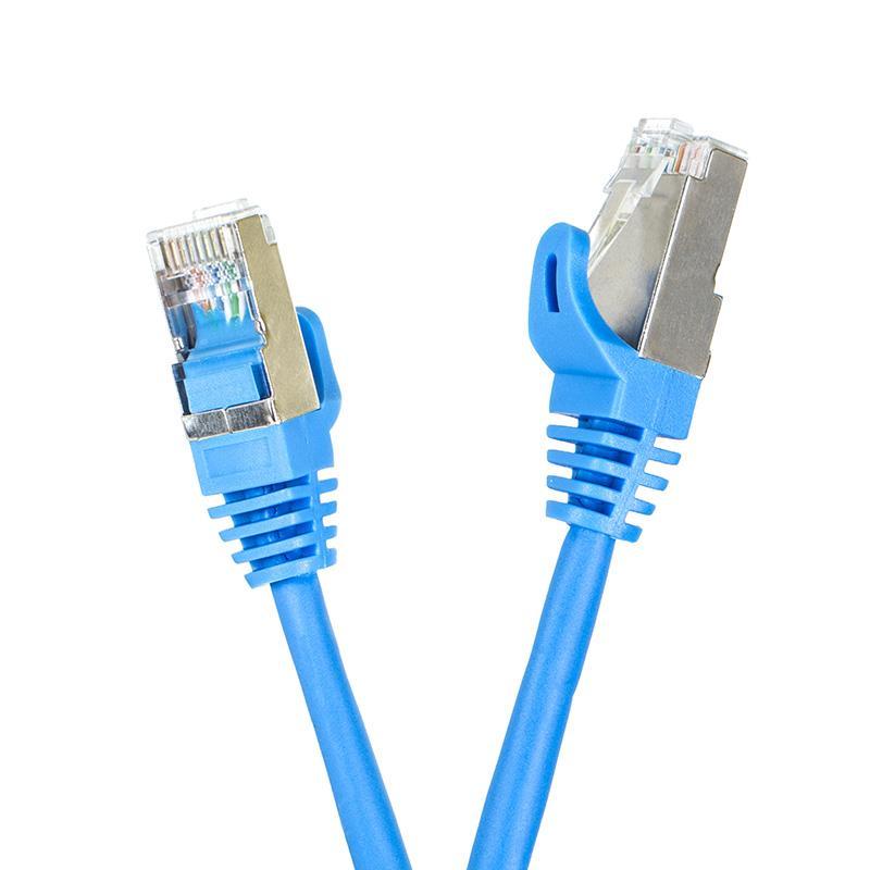 Digitalbox START.LAN patch kabel FTP cat.5e pozlacený 20m modrý