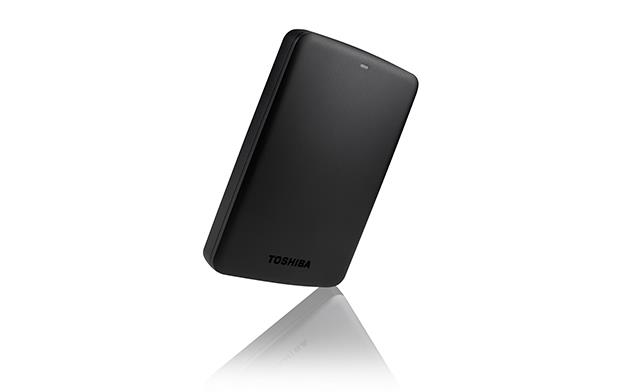 """BAZAR TOSHIBA HDD CANVIO BASICS 2.5"""" 1TB, USB 3.0, černý - poškozený obal"""