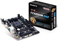 GIGABYTE MB Sc FM2+ F2A68HM-DS2, AMD A68H, 2xDDR3, VGA, mATX