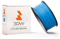 PLA 3DW ARMOR filament, průměr 1,75mm, 1Kg, Modrá