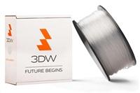 3DW - PLA filament 1,75mm transparent,1kg,tisk 190-210°C