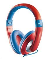 TRUST Sonin Kids Headphones Sluchátka , červené (pro děti)