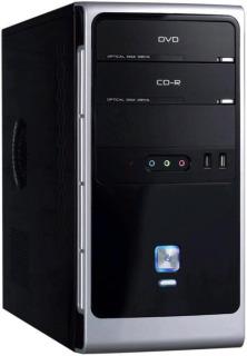 PC skříň Eurocase mATX MC32 Mini Tower, zdroj Fortron 350W USB 3.0 (černá)