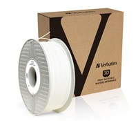Filament VERBATIM / ABS / White / 1,75 mm / 1 kg