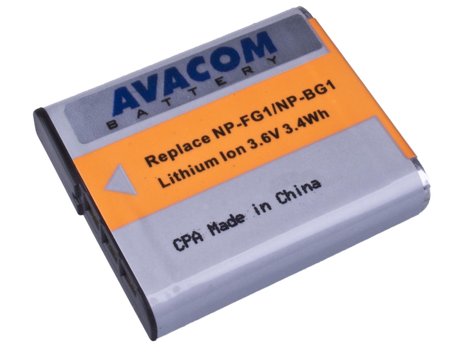 Baterie AVACOM Sony NP-BG1N, FG1 Li-ion 3.6V 950mA