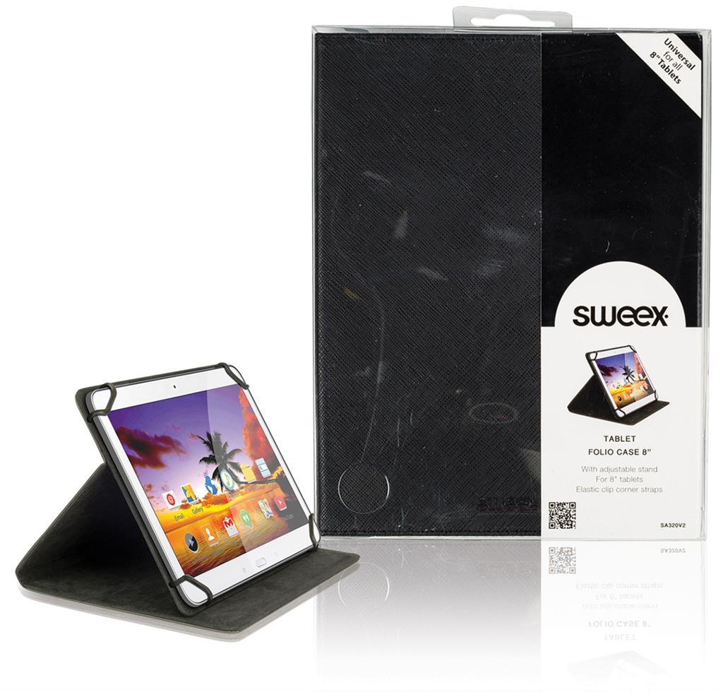 Sweex pozdro pro tablet 8'' černé