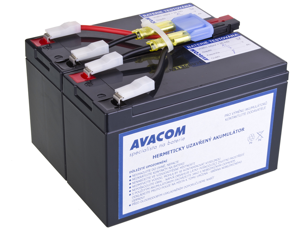 AVACOM náhrada za RBC48 - baterie pro UPS