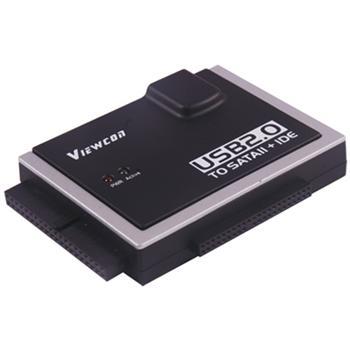 PremiumCord USB 2.0 na SATA + IDE adaptér s napájecím zdrojem pro disk