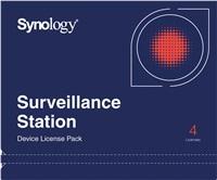 Synology Licenční balíček pro kamery - 4 kamery