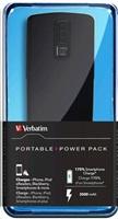 VERBATIM Přenosný ultratenký napájecí zdroj 1x USB / 3500 mAh Power Packs