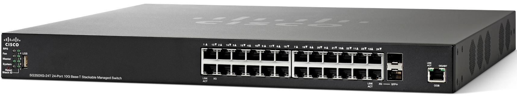 Cisco SG350XG-24T Managed Switch