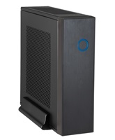 Chieftec PC skříň IX-03B-85W, zdroj 85W, ITX tower