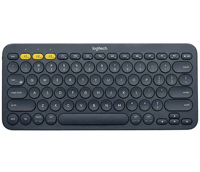 Logitech K380 Multi-Device Bluetooth Keyboard - DARK GREY - US
