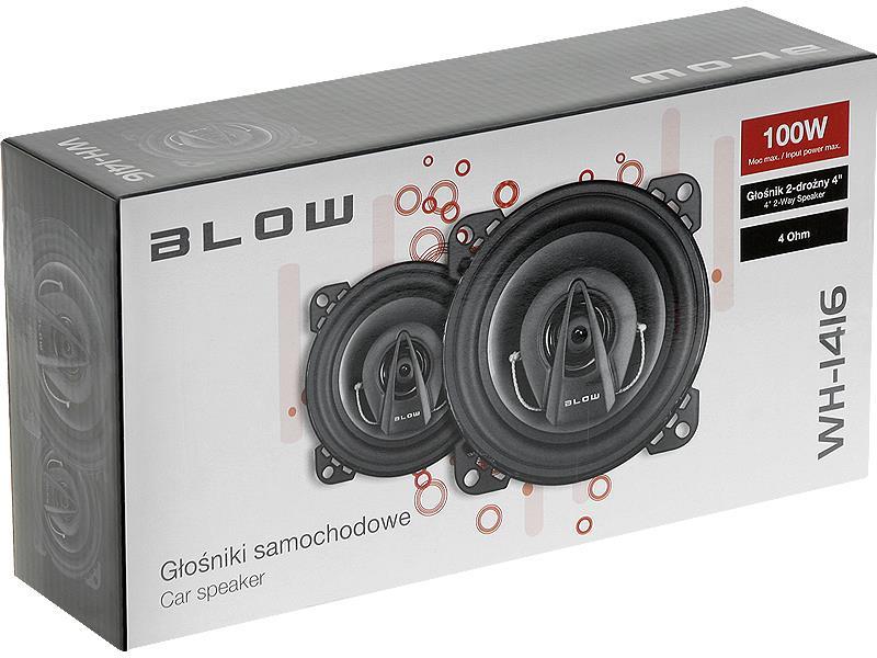 BLOW 0945# BLOW WH-1416 repro do auta 4 100W dvoucestný, 2 ks