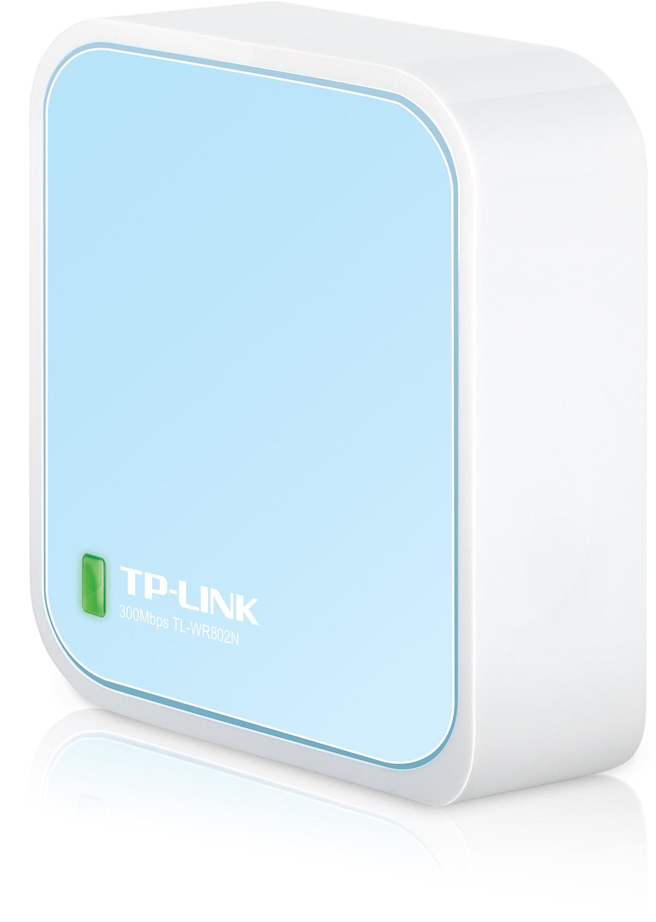 TP-Link TL-WR802N [Bezdrátový router Wireless Nano N 300 Mbit/s]
