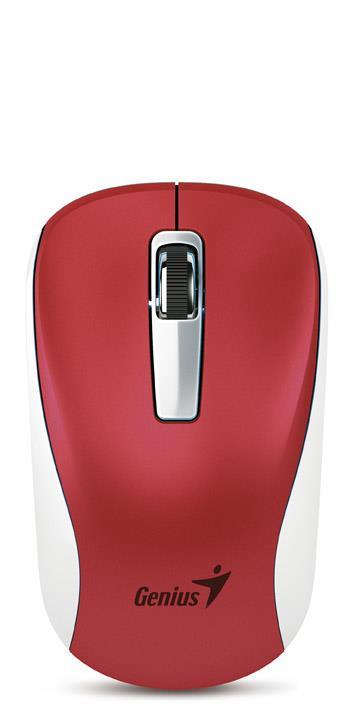 Genius optická bezdrátová myš NX-7010, červená