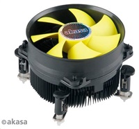 AKASA Chladič CPU AK-CC7117EP01 LGA115X, 92mm low noise PWM fan, pro CPU se spotřebou až 95W