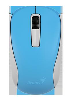 GENIUS Wireless myš NX-7005, USB, modrá, 1200dpi, BlueEye