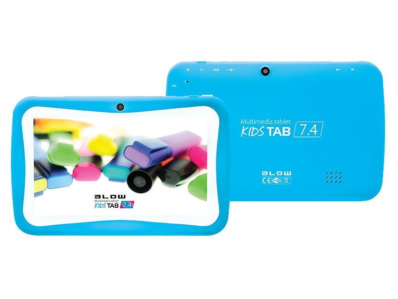 Tablet BLOW KidsTAB 7.4 blue + pouzdro