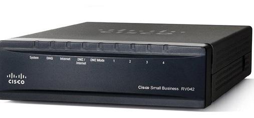 Cisco RV042, 2x 10/100 WAN, 4x 10/100 LAN VPN Router REFRESH