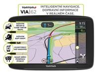 TomTom VIA 62 Europe, LIFETIME mapy