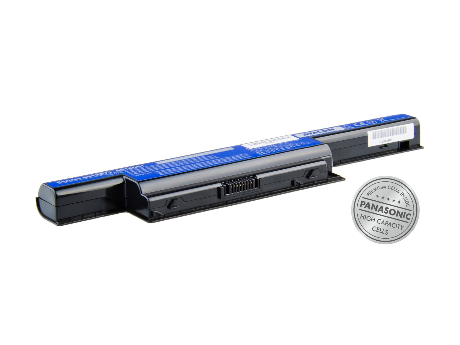Náhradní baterie AVACOMAcer Aspire 7750/5750, TravelMate 7740 Li-Ion 11,1V 5800mAh/64Wh