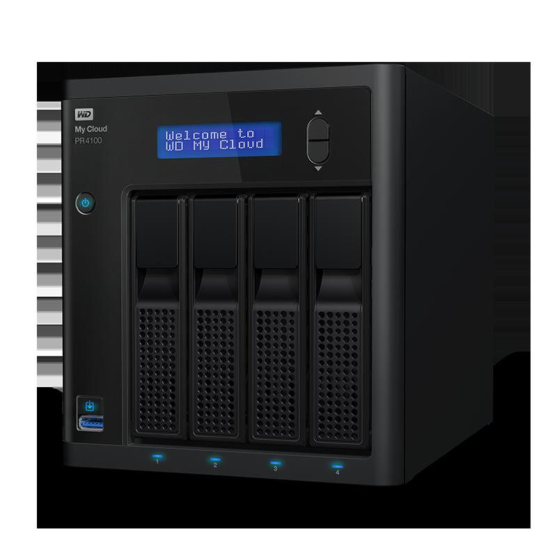 """NAS 3,5"""" WD My Cloud Pro PR4100 0TB NAS LAN"""