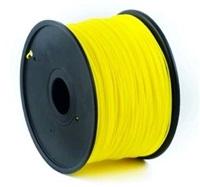 Filament Gembird ABS Yellow | 1,75mm | 1kg
