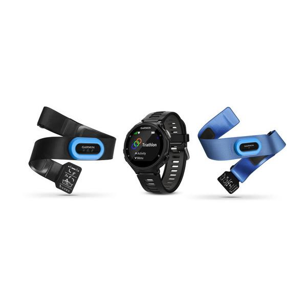 Garmin Forerunner 735XT Tri Bundle Black-Gray