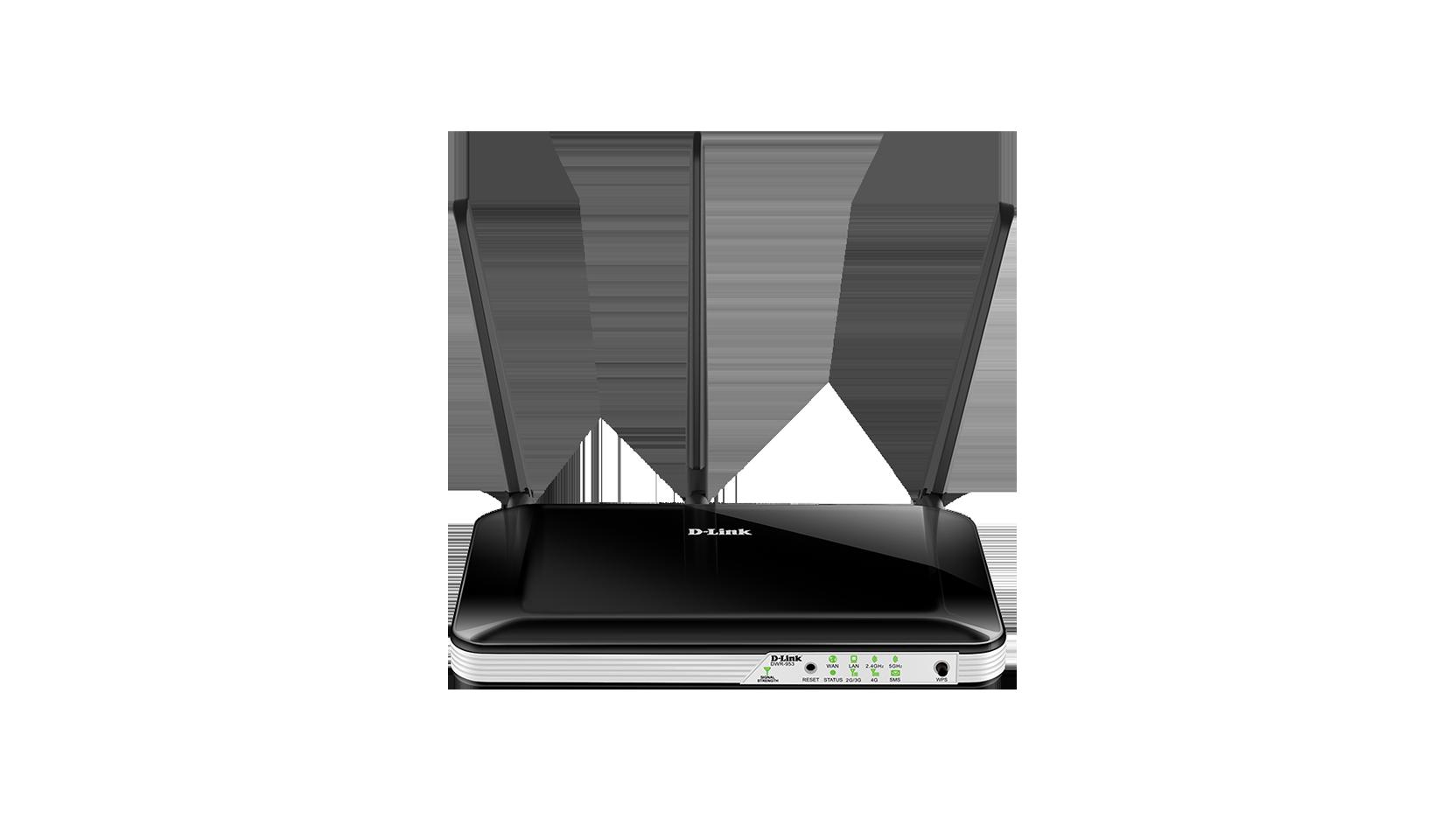 D-Link DWR-953 Wireless AC750 4G LTE Multi-WAN Router