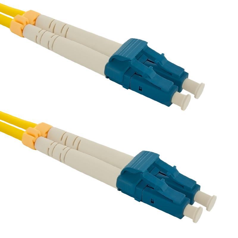 Qoltec Optic Patchcord LC/UPC-LC/UPC | Singlemode | 9/125 | G652D | Duplex | 1m