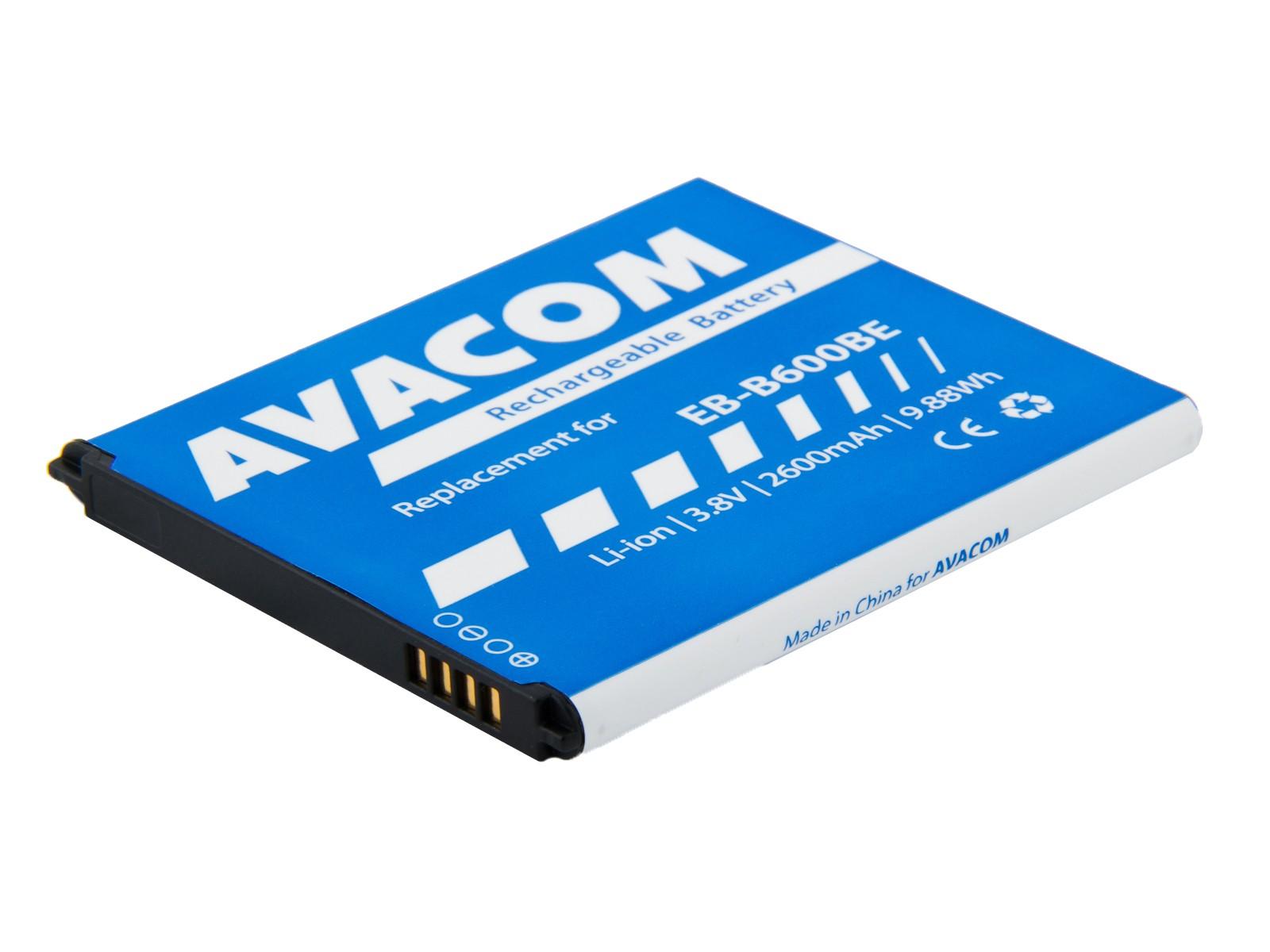Náhradní baterie AVACOMBaterie do mobilu Samsung Galaxy S4 Li-Ion 3,8V 2600mAh, (náhrada EB-B600BE)