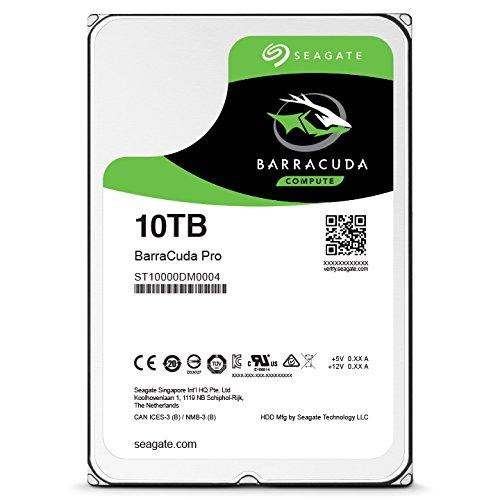 "Seagate BarraCuda Pro 3,5"" - 10TB/7200rpm/SATA-III/256MB"