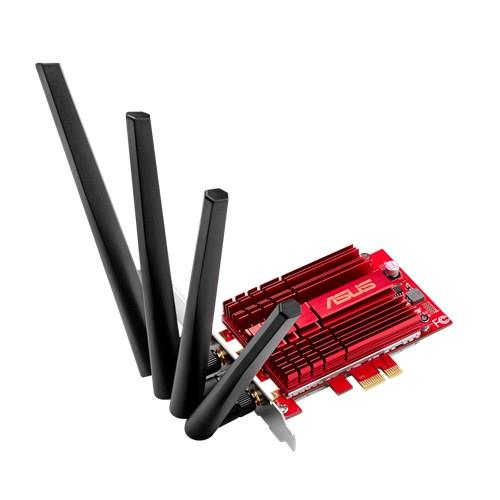 Asus PCE-AC88 Wireless AC3100 Dual-band PCI-E client card