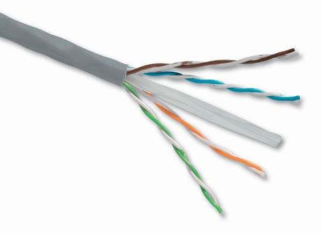 Solarix Instalační kabel CAT6 UTP PVC drát 305m/box