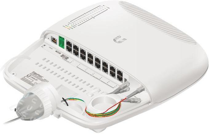 UBNT EP-S16,EdgePoint WISP switch,16x GLAN, 2x SFP/SFP+
