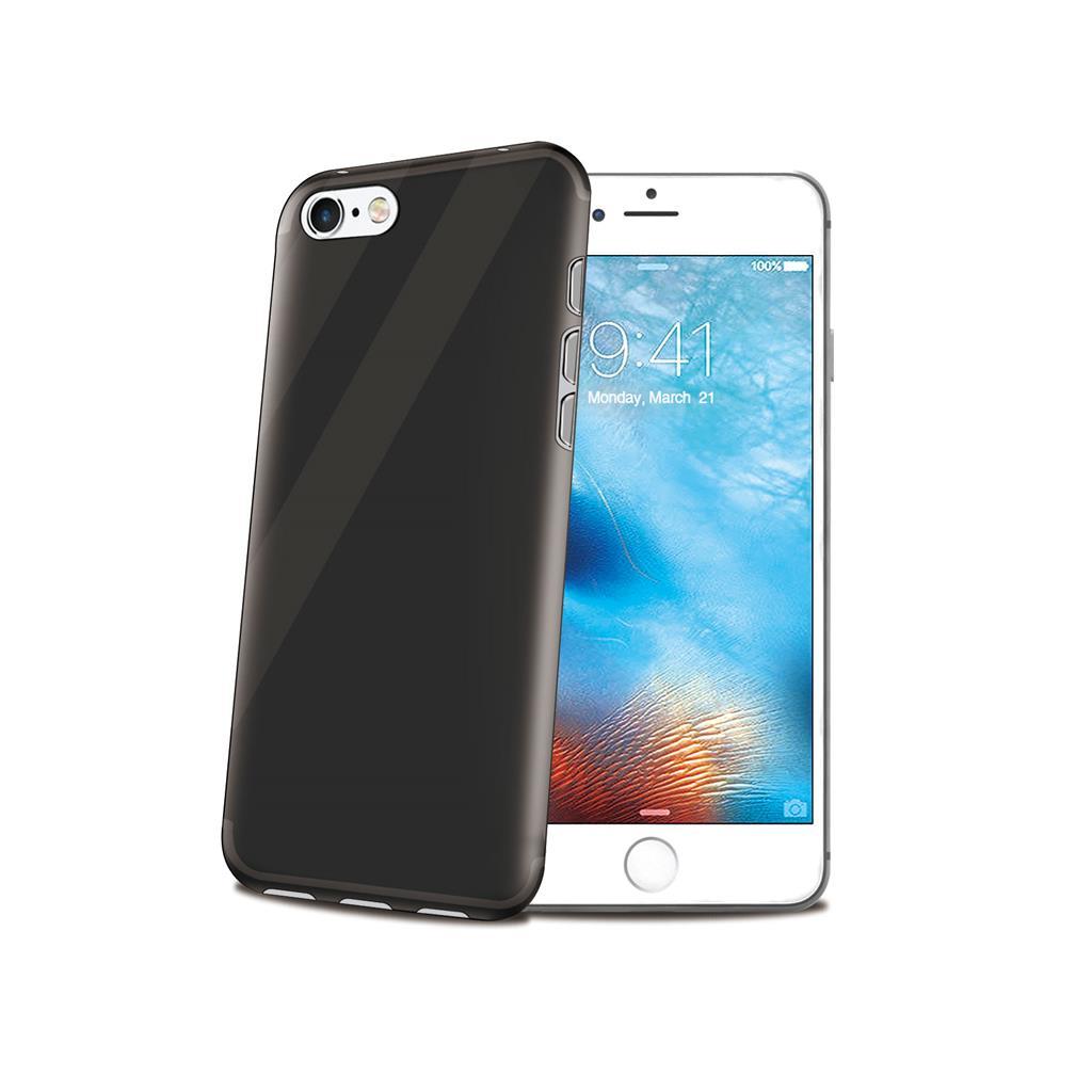 Celly GELSKIN kryt pro Apple iPhone 7, silikonový, černý
