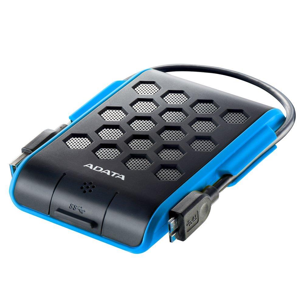 ADATA HD720 DashDrive 1TB 2.5'' externí disk USB 3.0 modrý, vodě a nárazu odolný