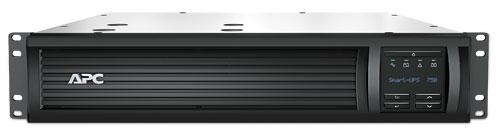APC Smart-UPS 750VA LCD RM 2U 500W, hloubka 406 mm + AP9631
