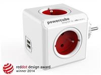 Allocacoc PowerCube Original USB Red
