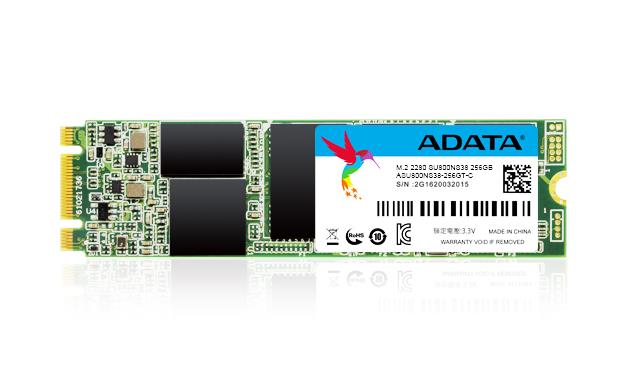 ADATA SSD 256GB Ultimate SU800 M.2 2280 80mm (R:560/ W:520MB/s)