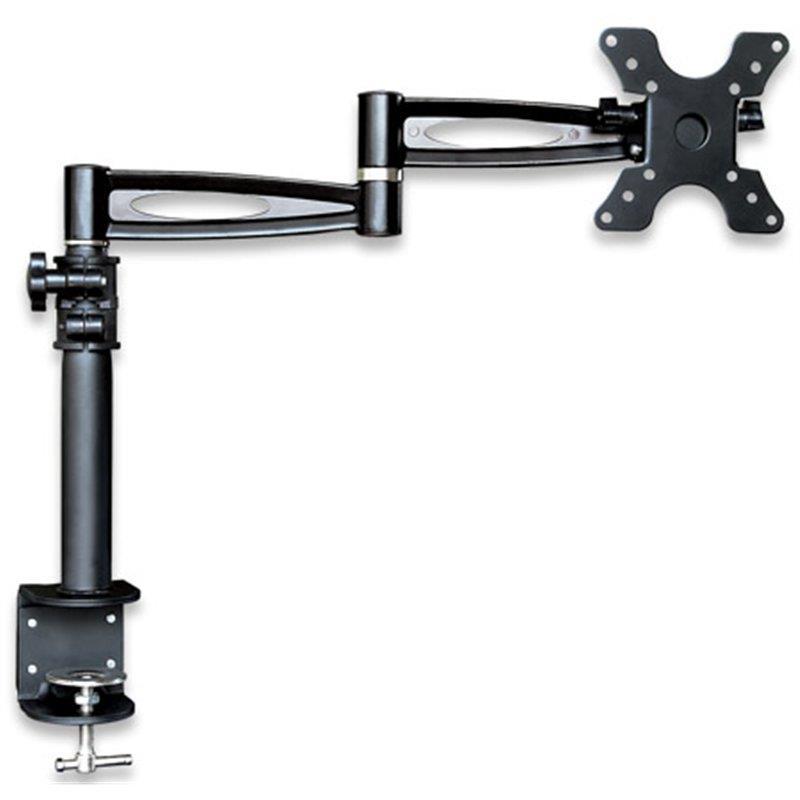Techly Kloubové rameno na LED/LCD 13''-27'' 6kg, na stůl, nastavitelné, černé