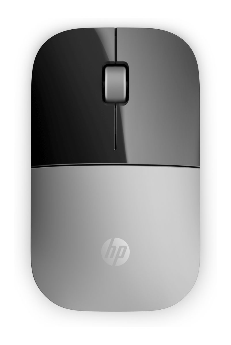 HP myš Z3700 bezdrátová stříbrná