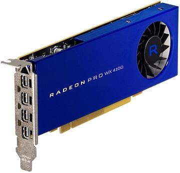 Radeon Pro WX 4100 4GB Graphics