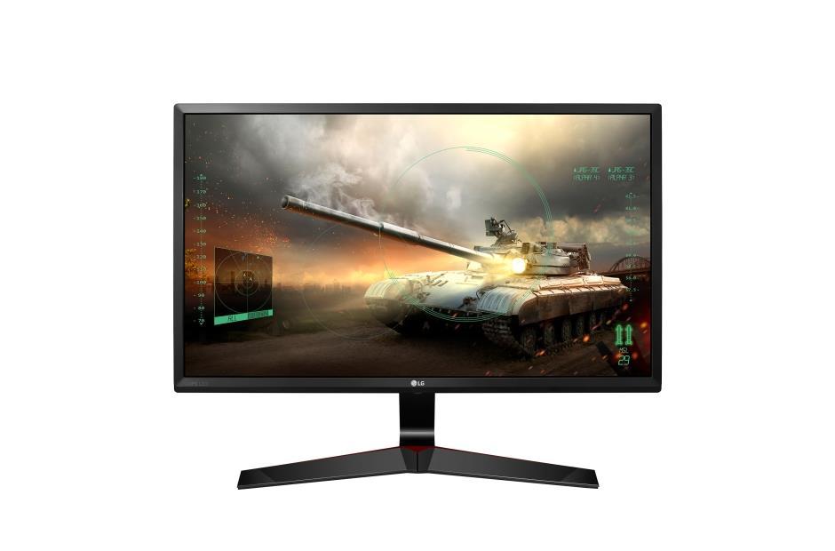 LG Monitor LCD 27MP59G-P 27'' IPS, FHD, 5ms, DP, D-Sub, HDMI, black